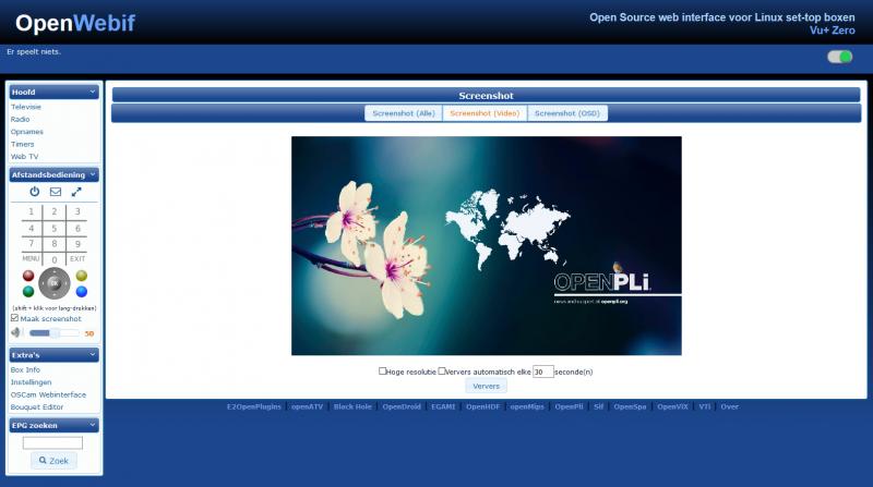 Webif - OpenPLi Wiki