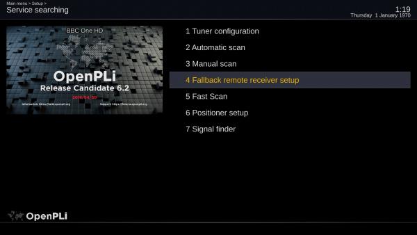 Fallback remote receiver - OpenPLi Wiki